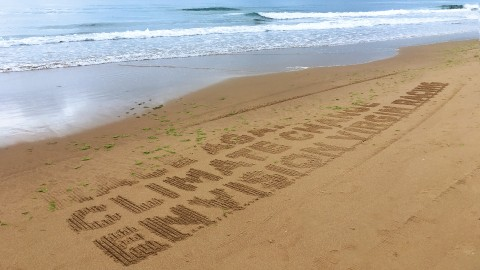 Sand Your Message